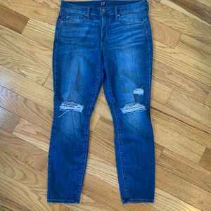 GAP Jeans - {Gap} Distressed Skinny Jeans